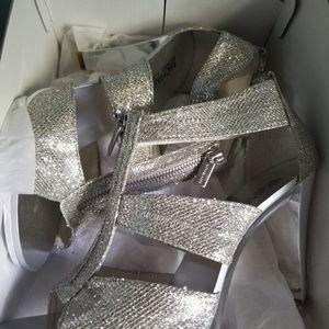 Michael Kors shoes glitter heels